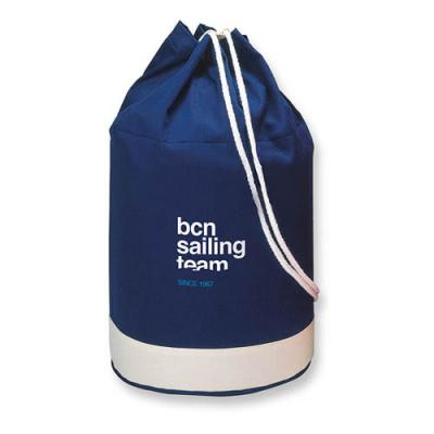 Image of Cotton duffle bag bicolour